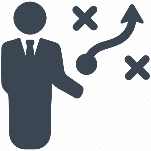 business, businessman, man, people, plan, project, strategy icon