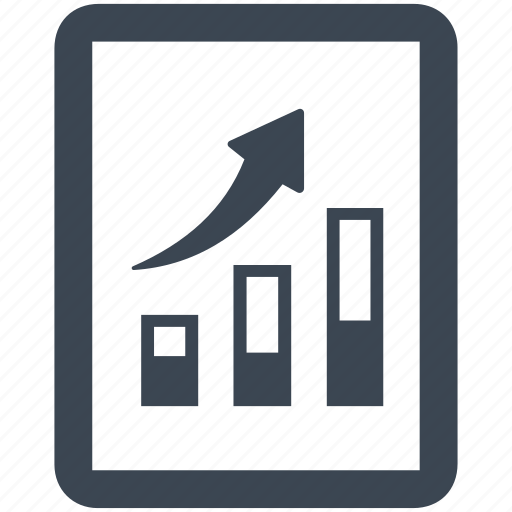 business, chart, document, file, graph icon