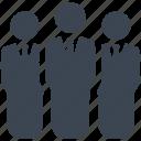 group, leader, man, men icon