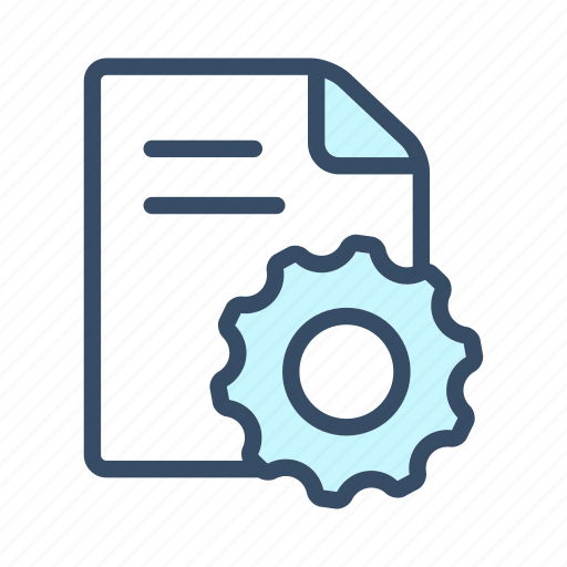 development, document, optimization, planning, project, project development, settings icon
