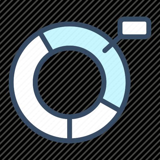 analytic, chart, data, economy, graph, pie chart, statistics icon