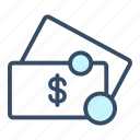 cash, currency, dollar, finance, money, payment, price icon
