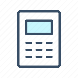 accounting, budget, calculate, calculator, finance icon