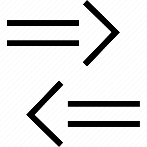 arrow, implies, mark, math icon