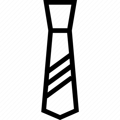 code, dress, elegant, suit, tie icon