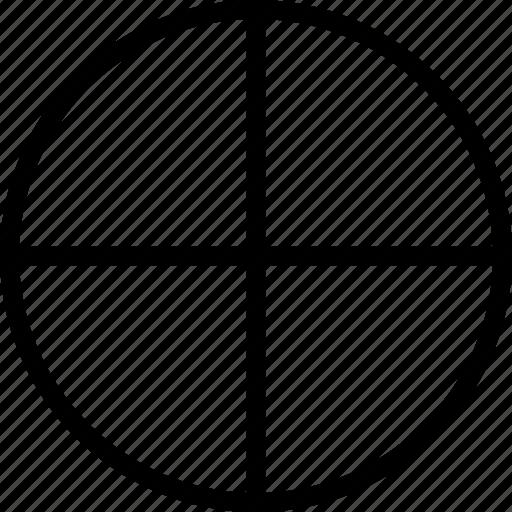 chart, circle, cross, pie, plus icon