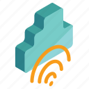 business, cloud, communication, connection, network icon