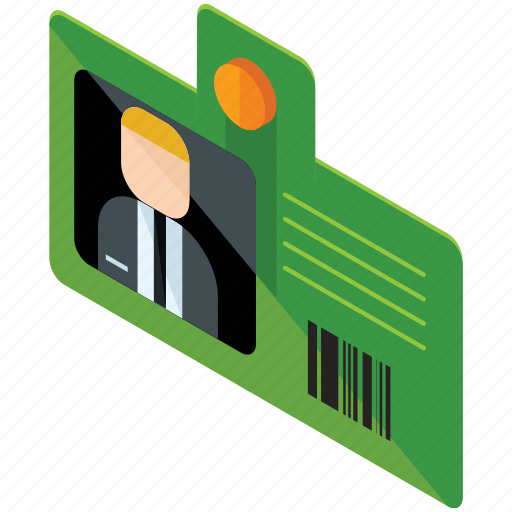 business, employee, id, identification, marketing, office icon