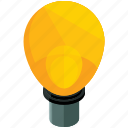 business, idea, lightbulb, marketing, office icon