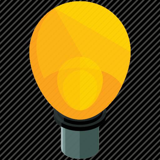 business, idea, lightbulb, marketing, office icon