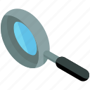 business, find, magnifier, search, zoom icon