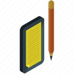 business, note, notepad, pad, pen, write icon