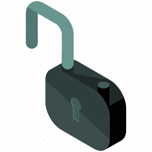 business, lock, safety, secure, security, unlock icon
