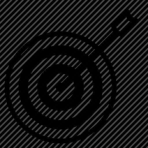 aim, company, future, goal, market, mission, target icon