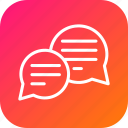 bubble, chat, comment, complaint, discussion, feedback, message