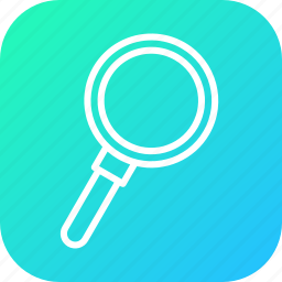 browse, discover, examine, find, glass, search, view icon