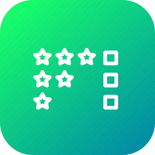 business, checklist, evaluation, priorities, qualities, valuation icon