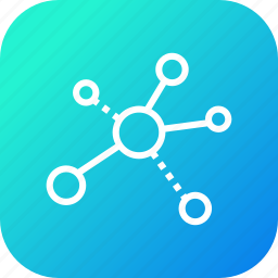 branch, business, child, company, connection, links, sector icon