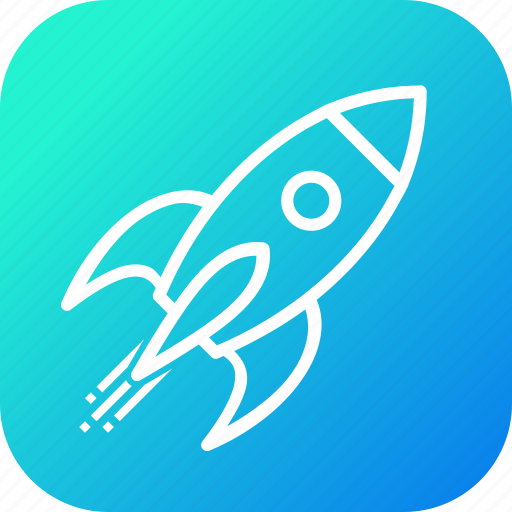 business, launch, marketing, mission, rocket, space, startup icon