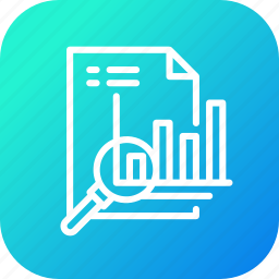 analytics, business, finance, financial, graphical, report icon