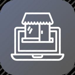 ecommerce, market, marketplace, online, retail, shop, store icon