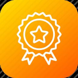 appraisal, authenticated, bedge, premium, quality, seo, service icon
