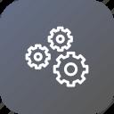 coag, gear, optimization, preferences, settings, wheel