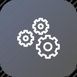 coag, gear, optimization, preferences, settings, wheel icon