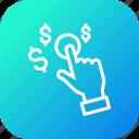 dollar, finance, gesture, hand, management, money