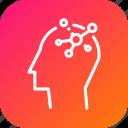 creative, head, idea, lateral, solution, thinking