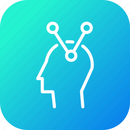 associative, brain, decision, making, mind, people, thinking icon