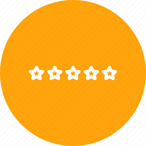 evaluation, favorite, five, like, rating, recommend, star icon