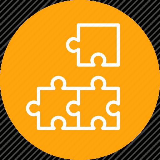 contribute, modeling, predictive, problem, puzzle, solution icon