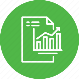 business, growth, management, process, progress, report icon