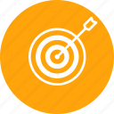aim, company, future, goal, market, mission, target icon