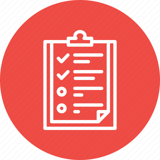 Checkmark, list, personal, planning, qualities, require, responsibility icon - Download on Iconfinder
