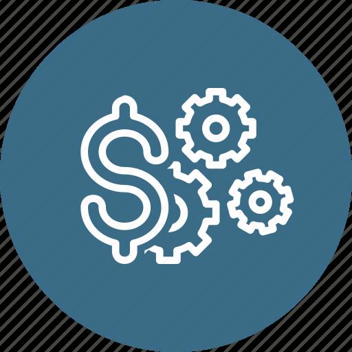 Dollar, finance, management, money, optimization, settings icon - Download on Iconfinder