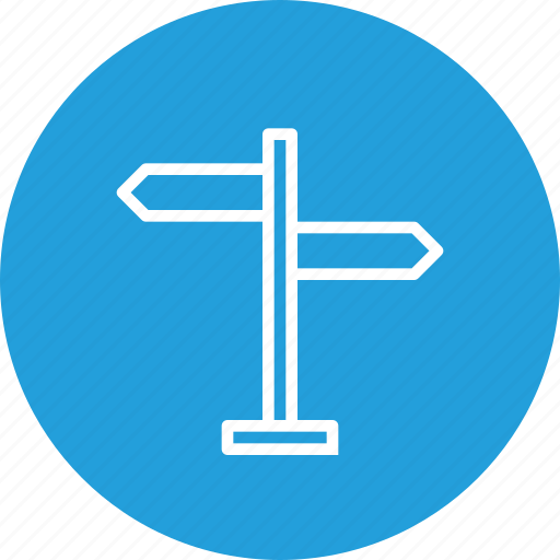Direction, indication, of, road, service, sign, signal icon - Download on Iconfinder