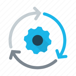 business, business system, concept, evaluate, implementation, work icon