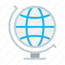 business, earth, globalization, globe, planet, world icon