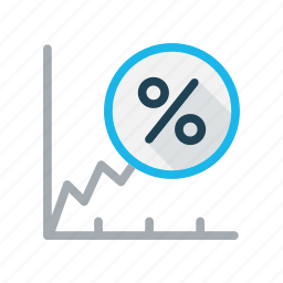 analysis, business, gain, growth, profit, revenue growth icon