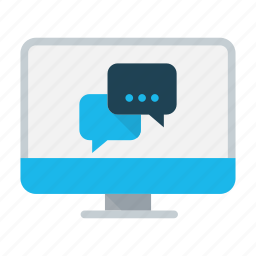 business, chat, communication, conference, conversation, dialogue, message icon