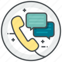 call, center, customer, service, talk icon