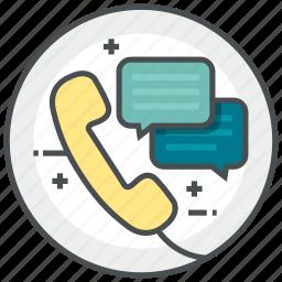 call, center, customer, service, talk icon