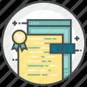 coding, file, html, language, web icon