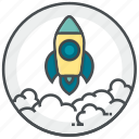 business, launch, science, ship, start icon