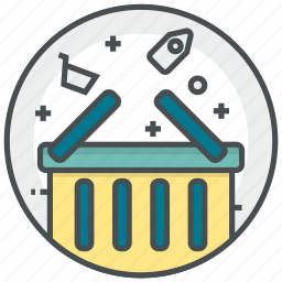 basket, delivery, price, sale, shopping icon