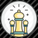 chess, game, piece, plan, strategy icon