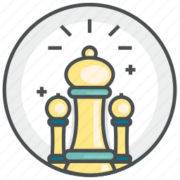 chess, game, piece, plan, strategy icon