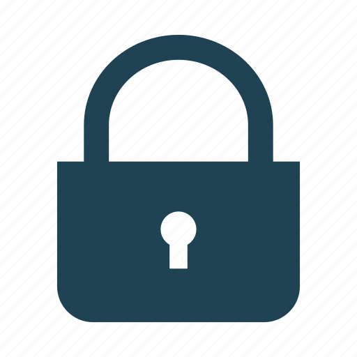 business, lock, padlock, password, privacy, security, solid icon